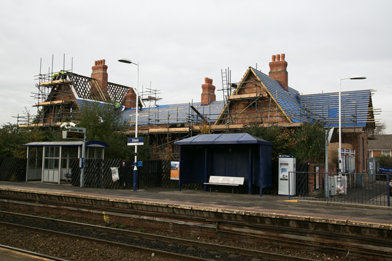 Irlam Station of the Past