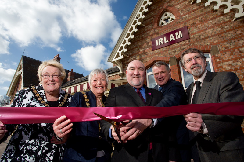 Irlam Station Launch Event