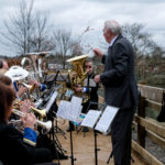 Cadishead Band kindly supported the Station Park opening